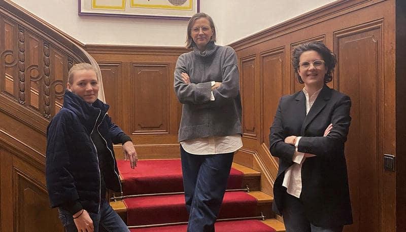 Ana Vollenbroich und Annelen Schmidt-Vollenbroich von NIDUS im Podcast