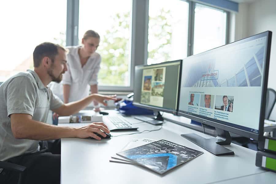 Online und social media immocom