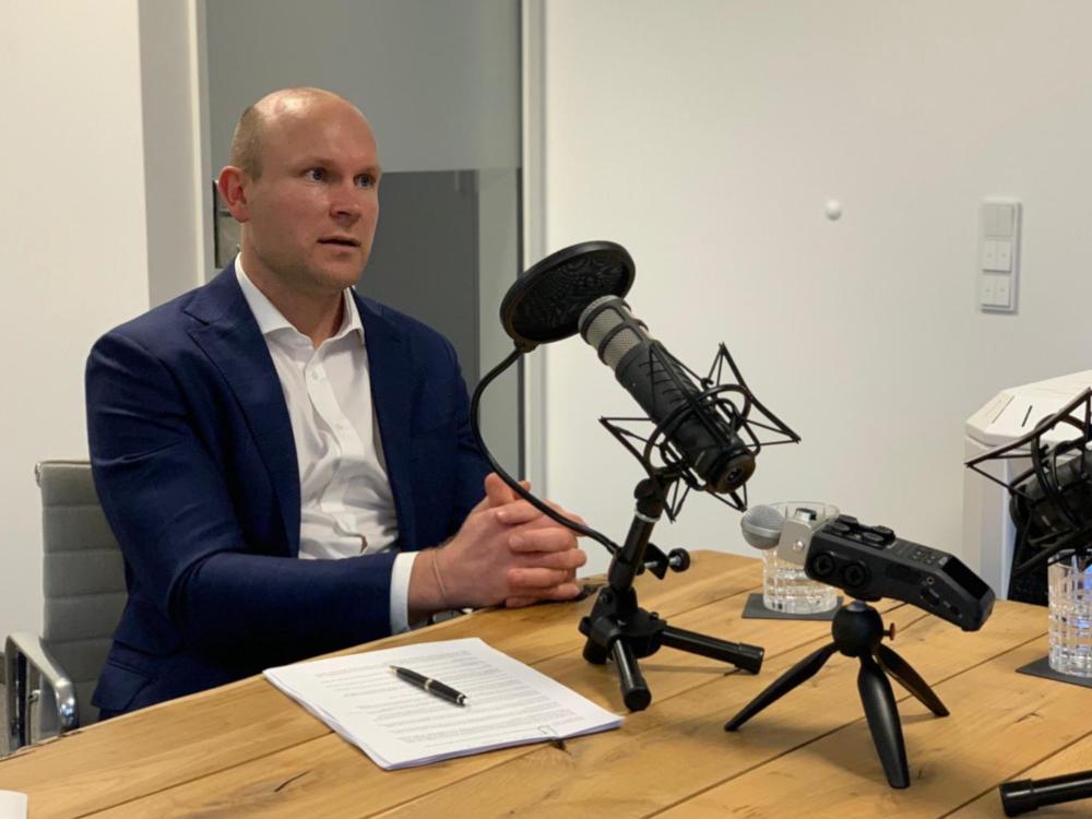 Daniel Hartmann von RUHR REAL im Immobileros-Podcast