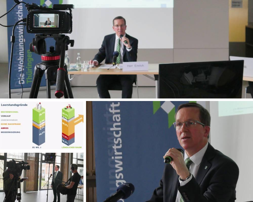Pressekonferenz vtw ländlicher Raum durchgeführt von Immocom
