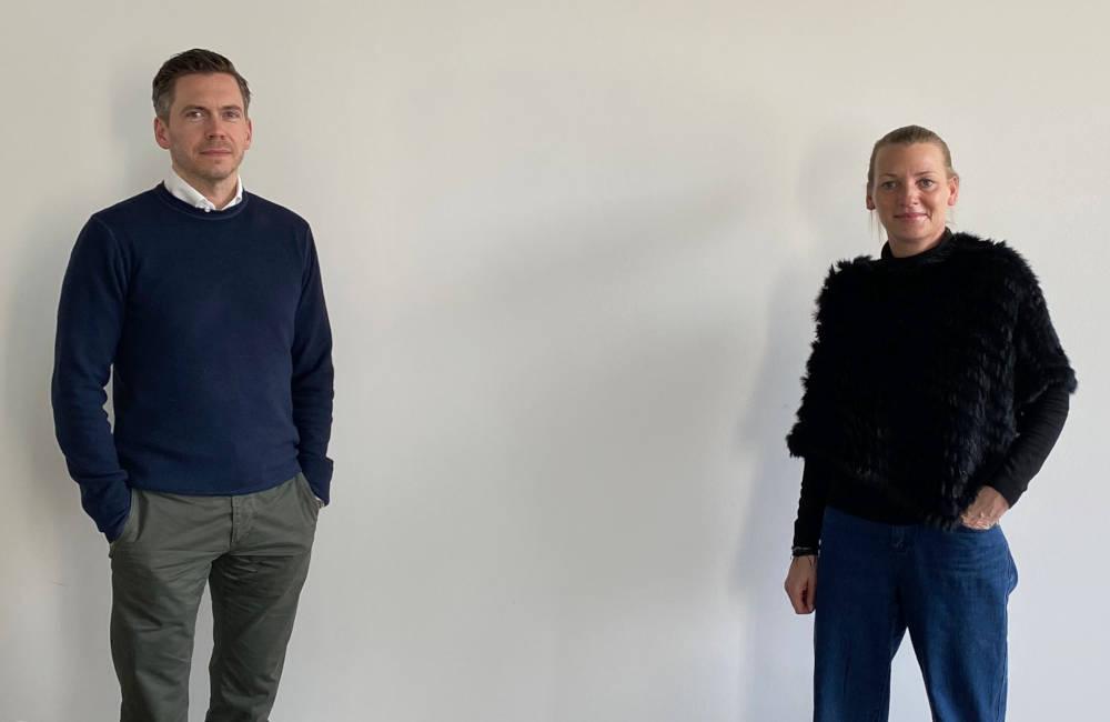 Timm Sassen und Ivette Wagner beim Immobileros-Podcast