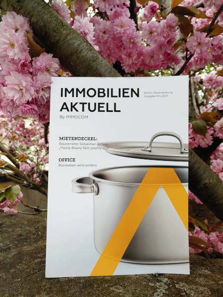 Immobilien Aktuell neues Magazin Berlin Brandenburg