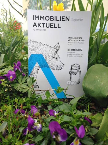 Immobilien Aktuell neues Magazin Mitteldeutschland