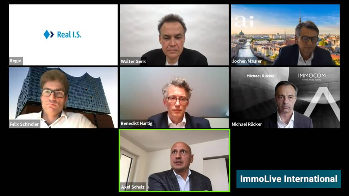 ImmoLive International Screen aller Teilnehmer