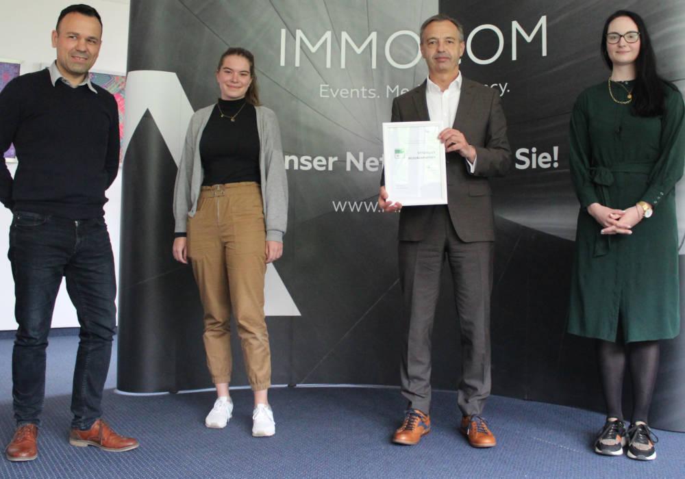 IMMOCOM als Praxispartner für IU Internationale Hochschule