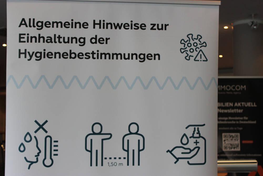 Leipziger Immobiliengespräch Hygieneregeln