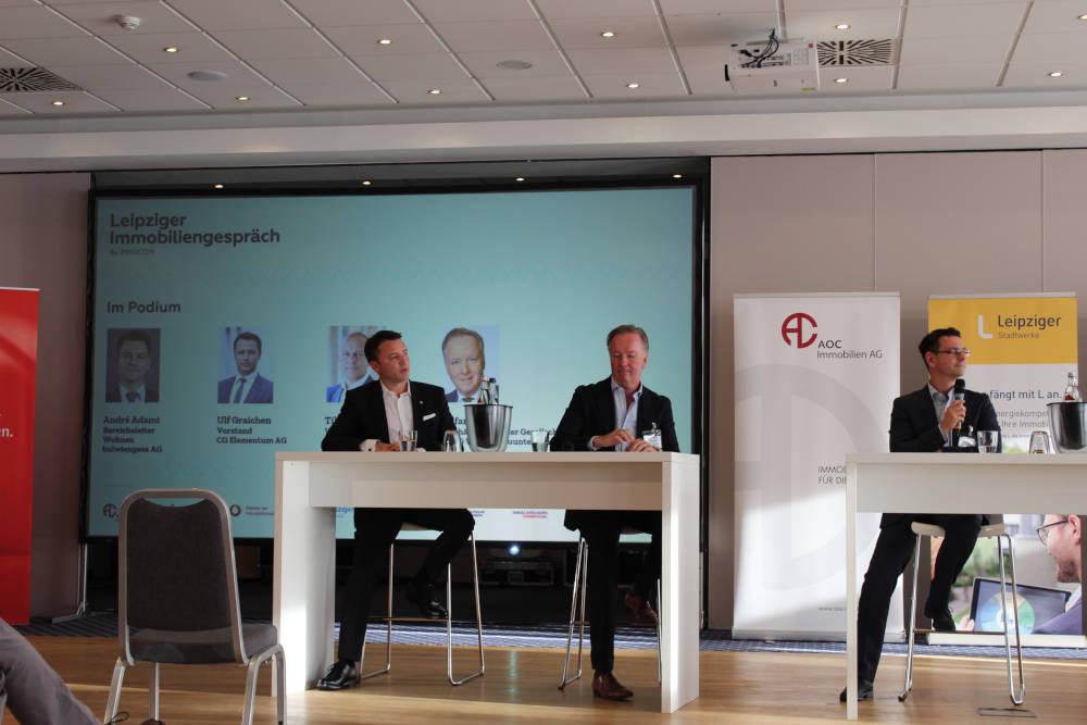 Ulf Graichen, Stefan Wulff und André Adami