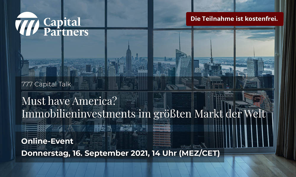 777 Capital Talk über den Investmentmarkt USA