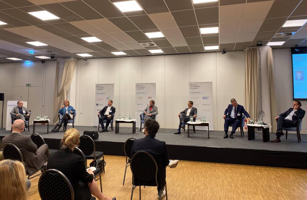 Berliner Immobilienkongress 2021 Eröffnungspanel