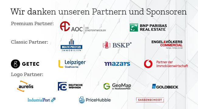 Dresdner Immobilientag Sponsorenbanner