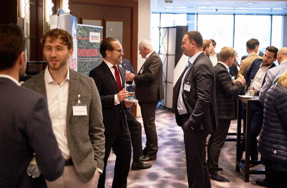 Aussteller beim Immobilien-Event der IMMOCOM in München