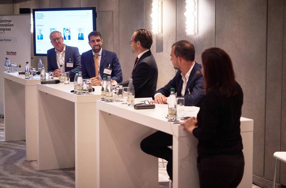 Münchner Immobilienkongress Hotel-Panel