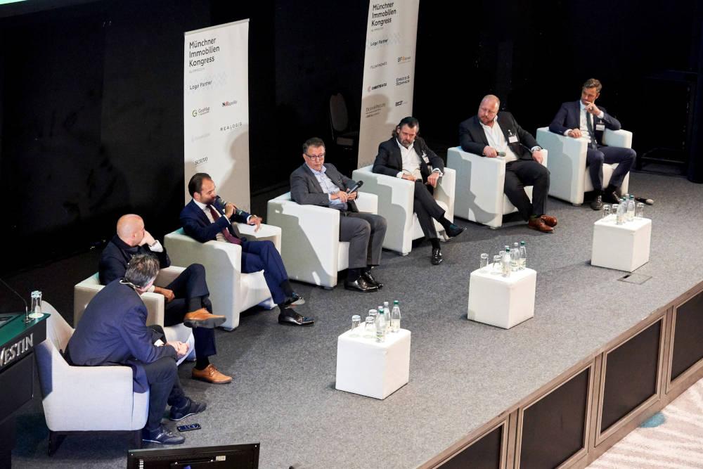 Auftaktpanel beim Münchner Immobilienkongress 2021