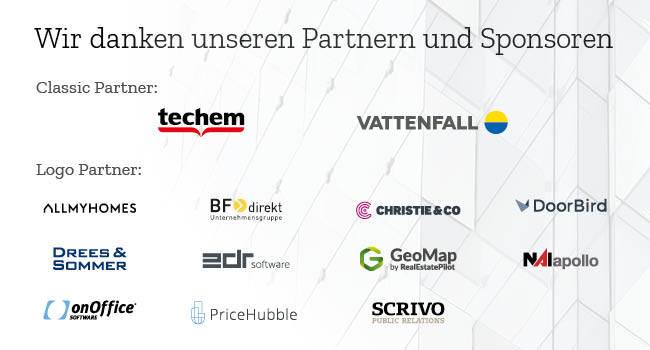 Münchner Immobilienkongress Sponsorenbanner