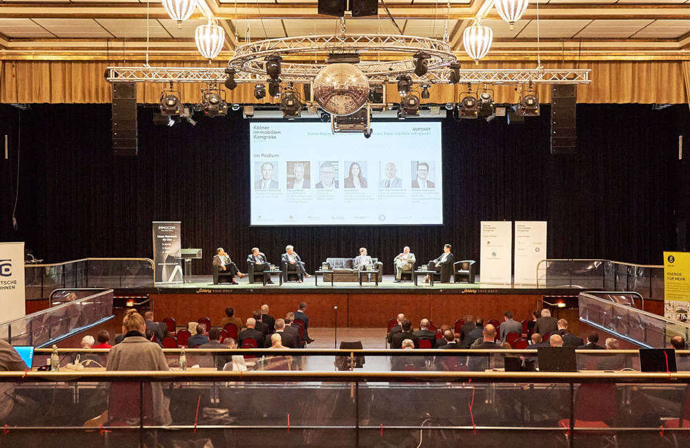 Kölner Immobilienkongress 2021 Auftaktpanel